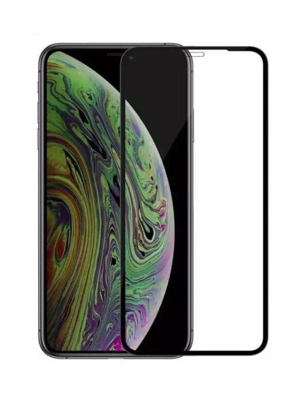 Panzerglas für das iPhone XR von FlightLife in Schwarz