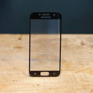 3D Panzerglas Samsung Galaxy A3 (2017) Schwarz