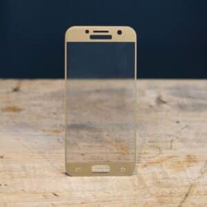 3D Panzerglas Samsung Galaxy A3 2017 Gold