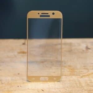 3D Panzerglas Samsung Galaxy A5 2017 Gold
