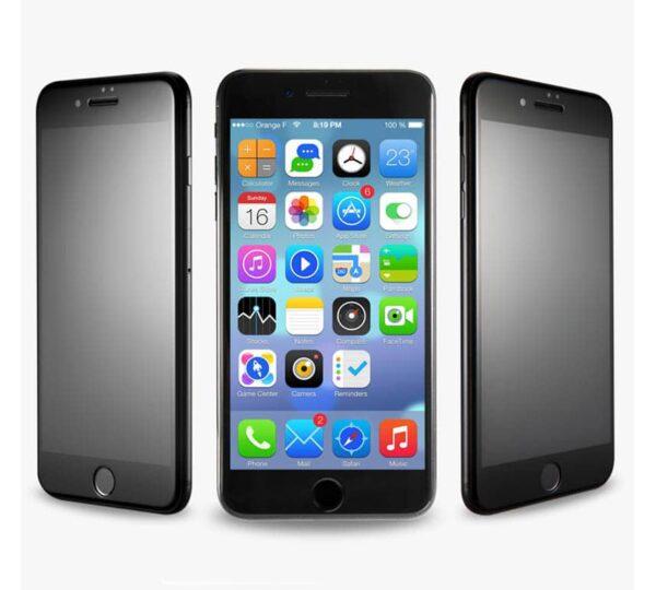 Privacy Panzerglas für das iPhone SE 2020 mit Blickschutzfilter