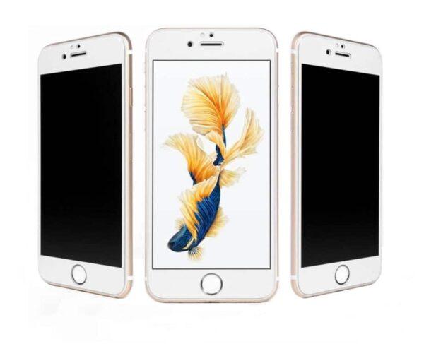 Privacy Panzerglas für das iPhone 7 Plus mit Blickschutzfilter weiss