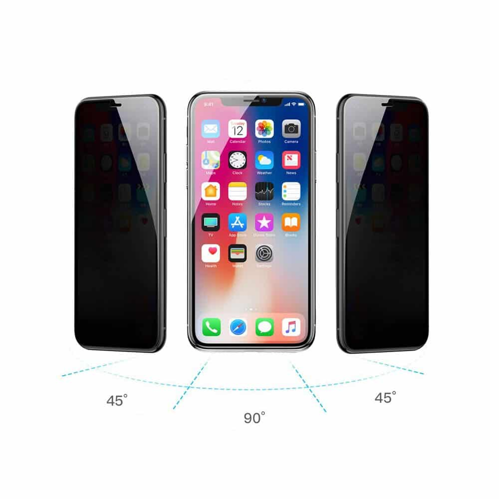 3D Privacy Panzerglas iPhone 11