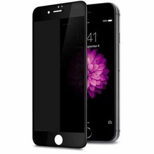 Privacy Screen mit Panzerglas für iPhone 8 Blickschutzfilter schwarz